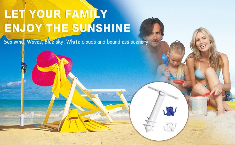 beach umbrella holder
