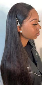 HD 5X5 lace closure wig