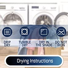 drying instruction