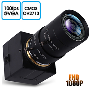 high frame rate 1080P USB Webcam low light usb camera5-50 zoom focus