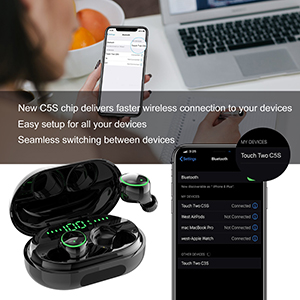 wireless earbuds auto paring