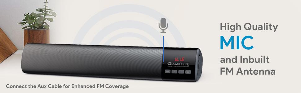 speaker with mic