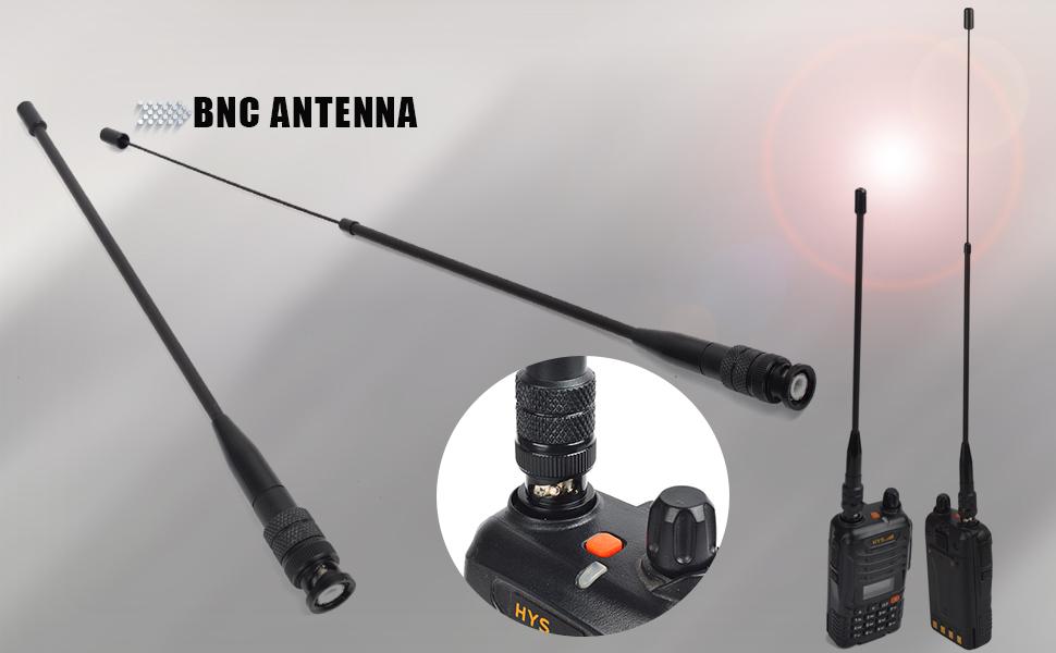 Ham uhf vhf 2m 70cm na-771 two walkie talkie antennas gps long range Na-771 accessories