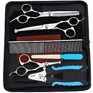 Freewindo Pet Grooming Scissors Kit