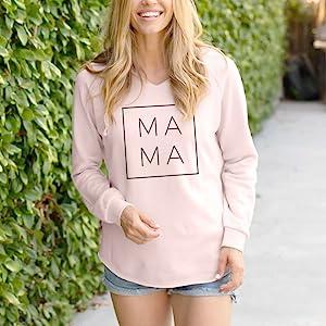 Mama Pink Hoodie
