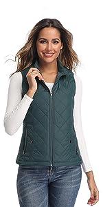 green vest for women