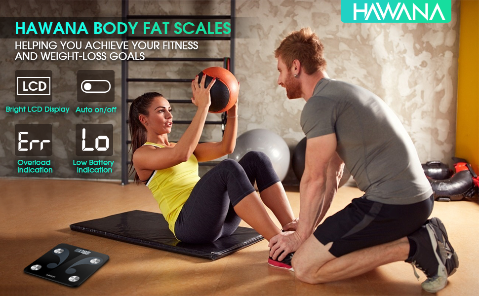 HAWANA BODY FAT SCALE