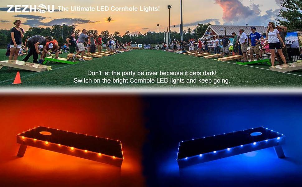 cornhole lights for edge