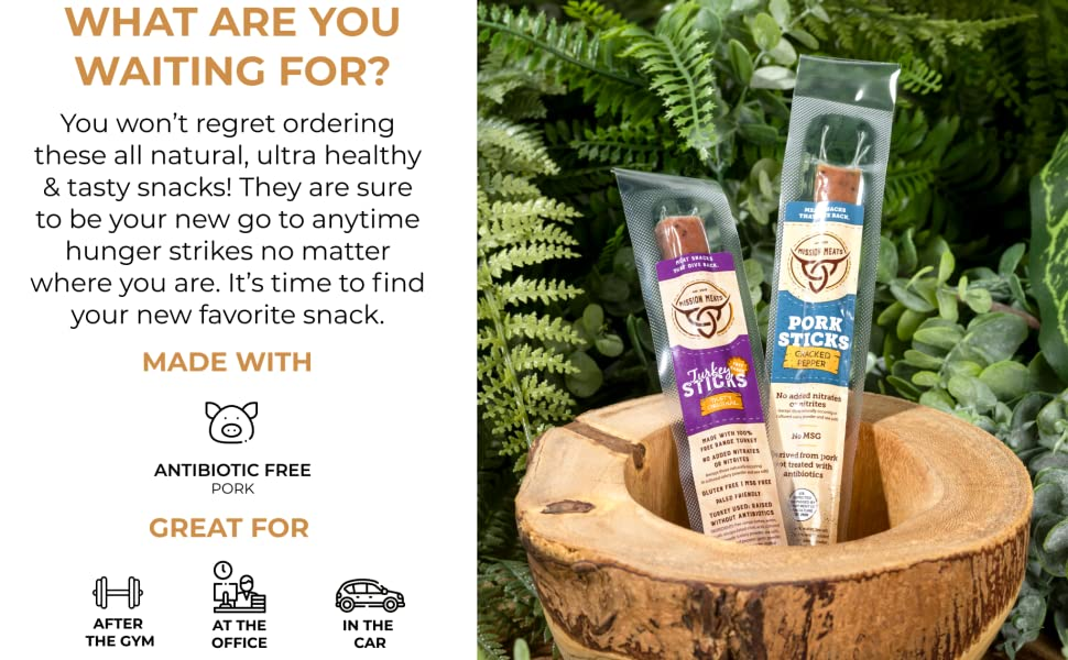 You won't regret ordering these ultra healthy & tasty snacks! They are sure to be your new go to