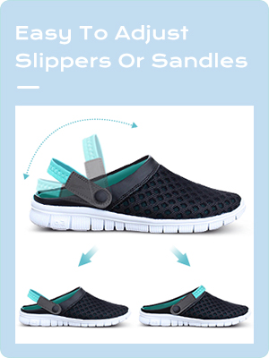 breathable garden shoes