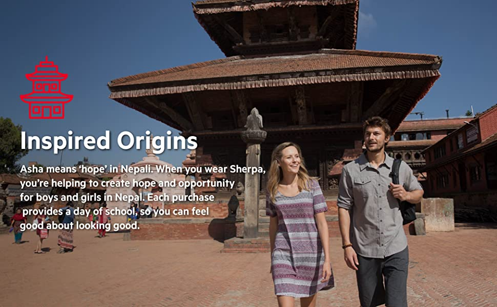 Inspired by the culture and environment of Nepal