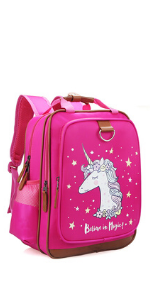 backpack book bag kids unicorn girls cute school preschool kindergarten elementary gifts niece kid