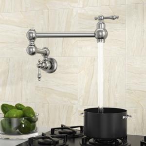 Pot Filler Faucet Wall Mount