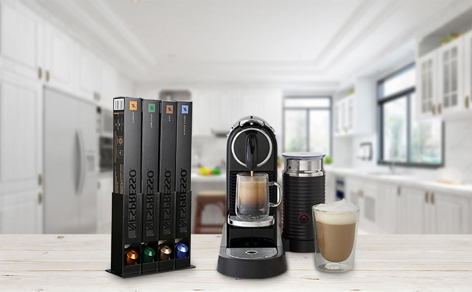 HiveNets Porta Cápsulas Almacenamiento de café Pods para Nespresso ...