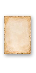Papel de carta - Hojas estampadas VINTAGE 50 hojas DIN A4 ...