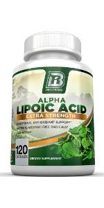 Alpha Lipoic Acid 250mg Antioxidant