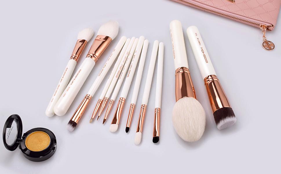 eyeshadow palette makwup brush set makeup brushes kabuki travel makeup brush mac eyeshadows make l