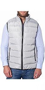 mens puffer vest down alternative