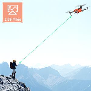 Autel Robotics EVO 2 Drone Fodable Video Drone 5.59 Miles Transmission Range