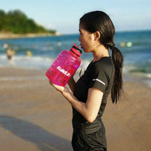 Motivationa water bottle