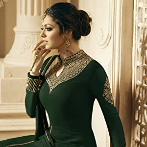 neck design Gown for women latest design