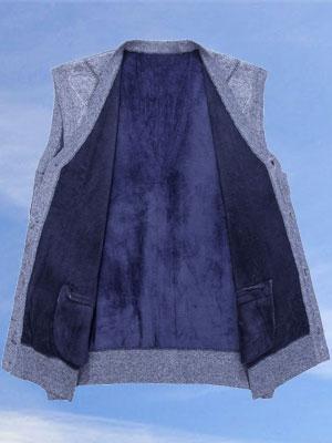 Men's V-Neck Knitting Vest Mens Sweater Vest Mens Cashmere Wool Blend Relax Fit Knit Sleeveless Vest