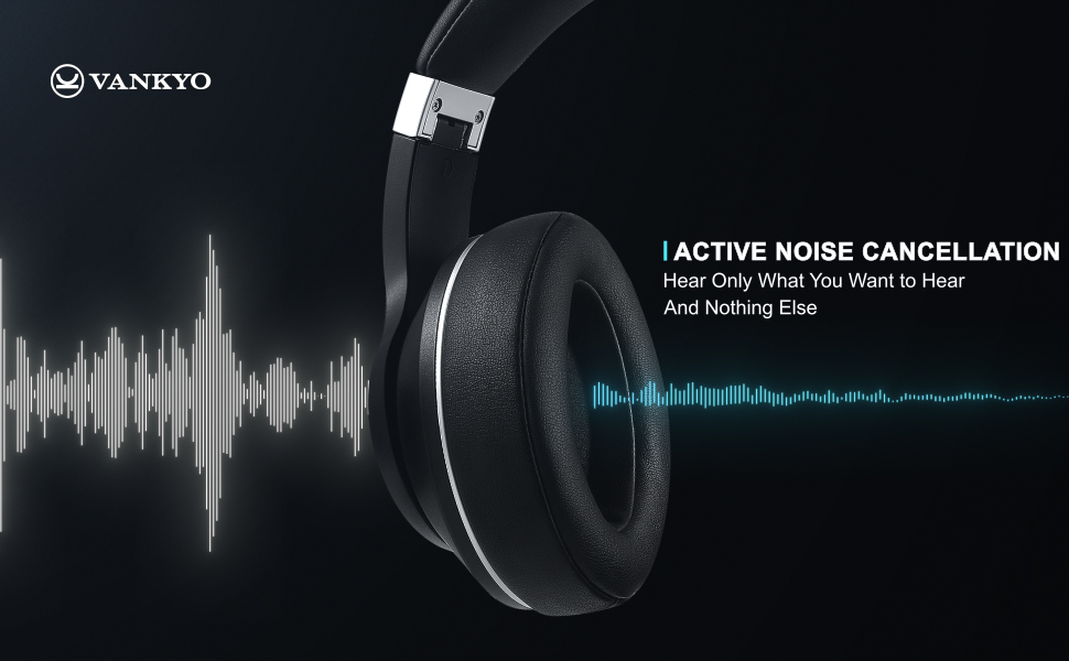 Vankyo over ear noise cancelling headphone