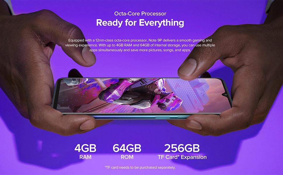 4GB + 64GB smartphone