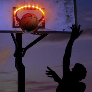 basketball glow rim