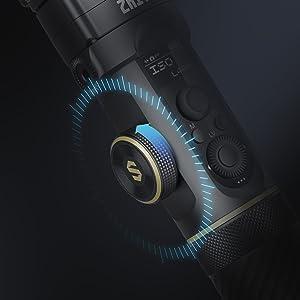 Precise Digital & Mechanical Focus Control