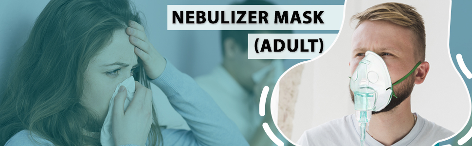 adult nebulizer mask respiratory kit for kids and adults