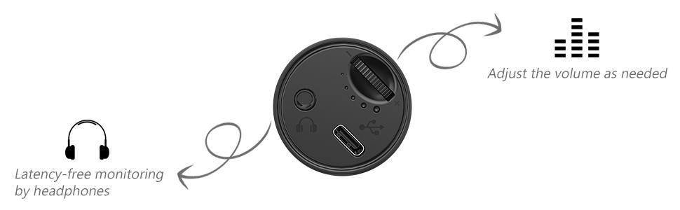 ZINGYOU ZY-UD1 with volume knob