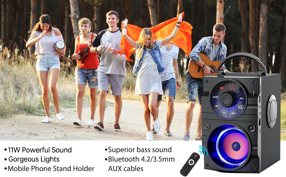party bluetooth speaker