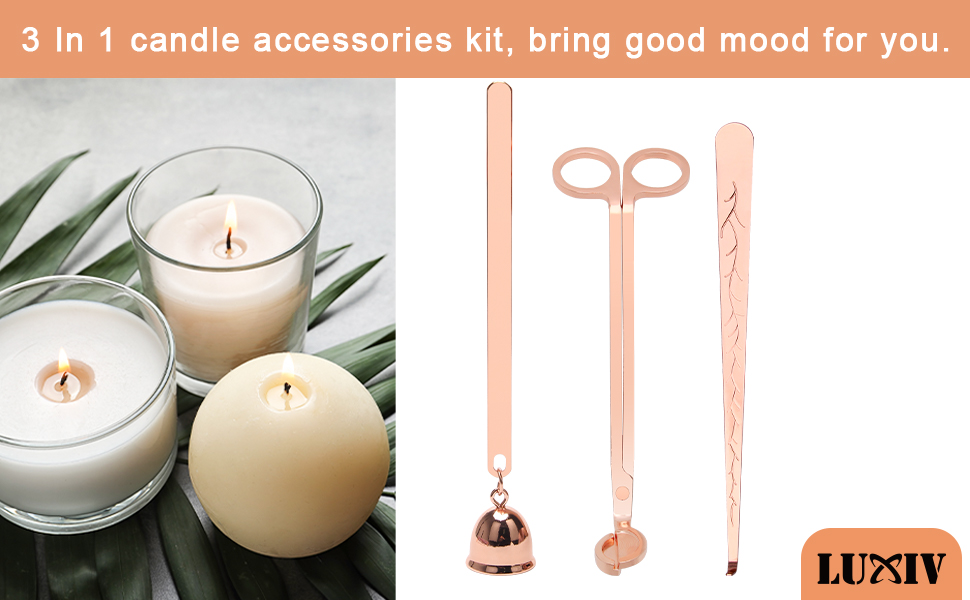 3 in 1 Candle Snuffer Set