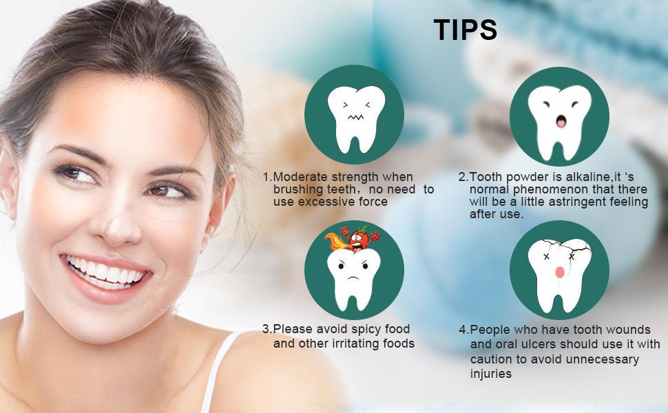 how to use teeth powder