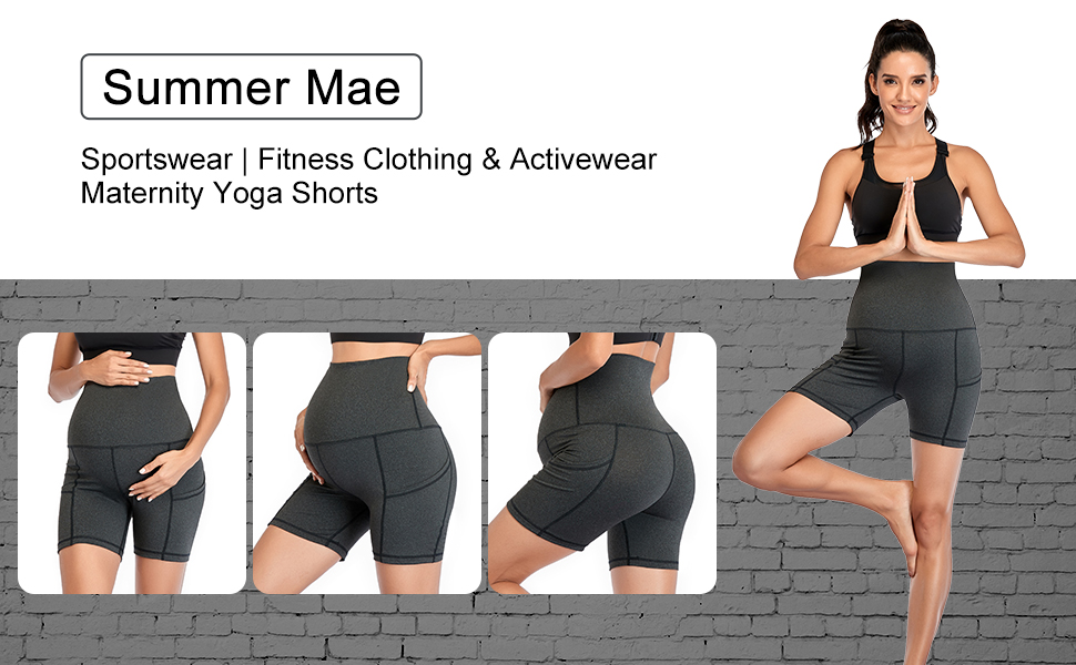 maternity work out shorts