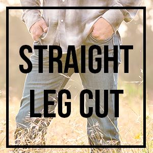straight leg cut