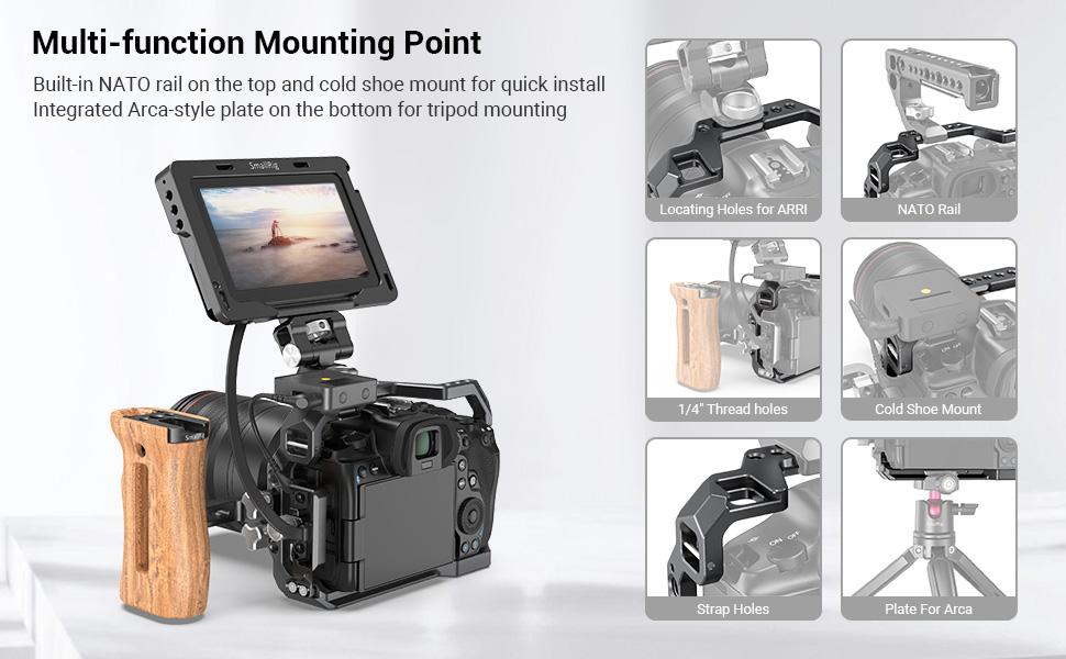 Canon EOS R5 R6 Camera Cage
