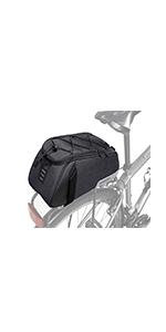 WOTOW Bike Rear Seat Bag