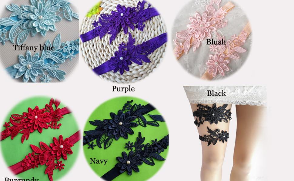lace garter for bridal wedding