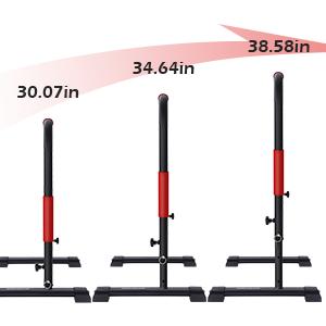 Adjustable height  dip station