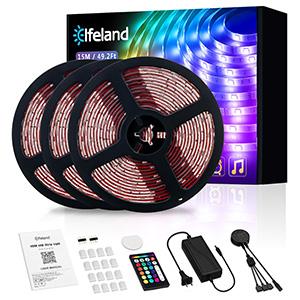 led strip lights's package