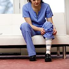 sitting vim amp; vigr compression socks