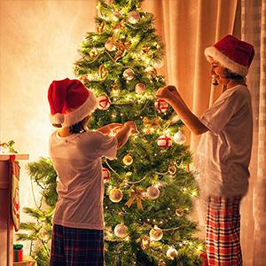 brown cord christmas lights