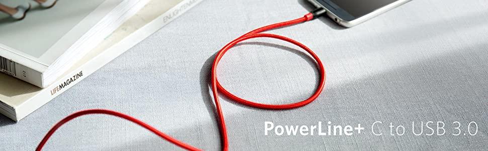 PowerLine+ USB-C & USB-A 3.0