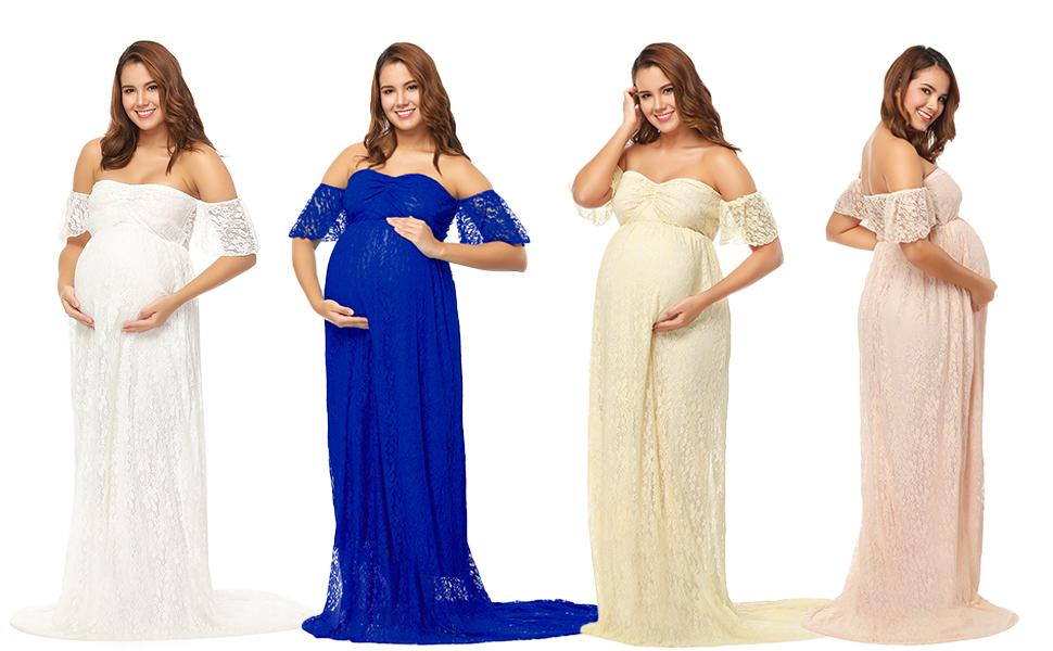 lace maternity dress wedding