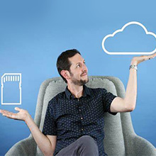 Local and cloud storage for all activities