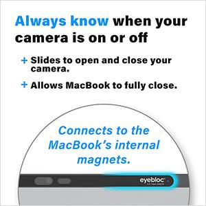 Eyebloc Webcam Cover