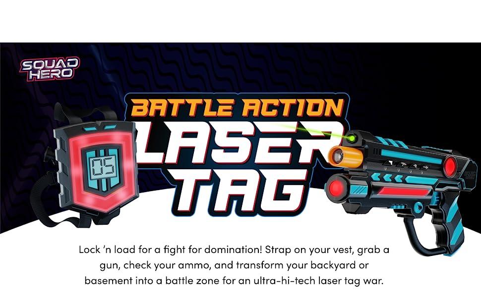 Battle Action Laser Tag