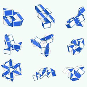 3-D Puzzles Bundle Brain Teasers Toy Set